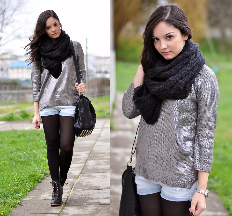look-inverno-tricot-metalizado