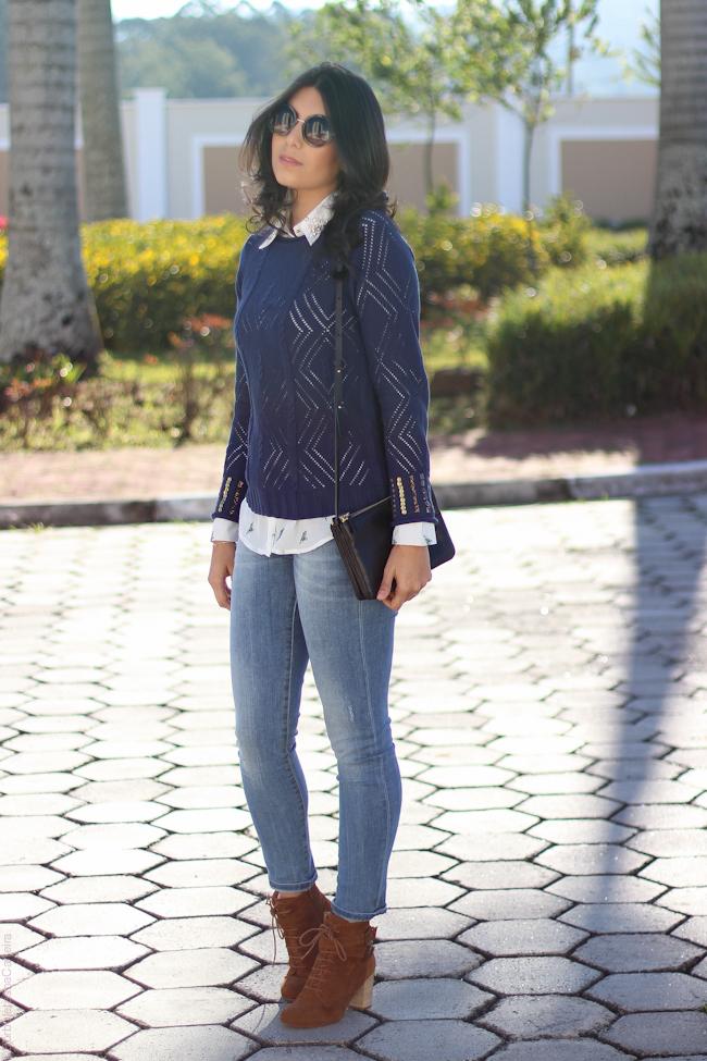 tricot sobreposição