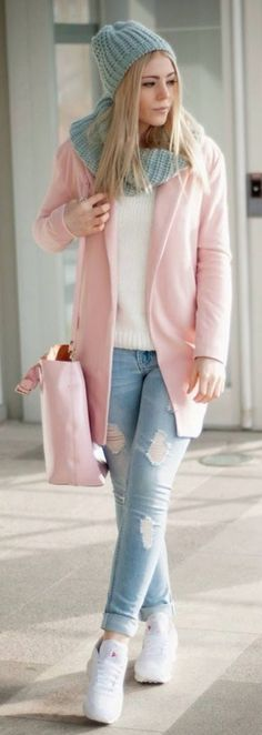 casaco rosa