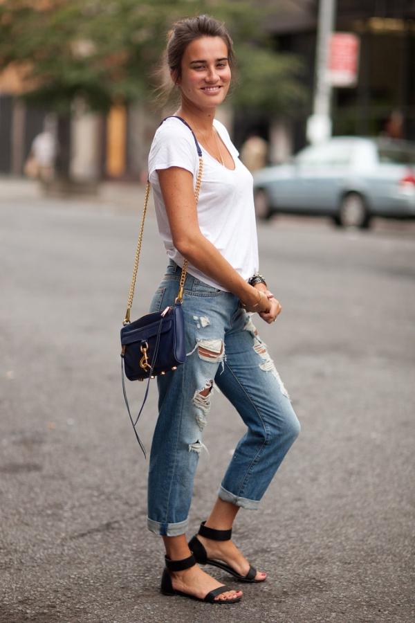 jeans-flats
